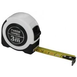 FLEXOMETRO CINTA 16/3 MTS.COMPRESS RATIO