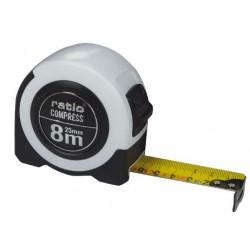 FLEXOMETRO CINTA 25/8 MTS.COMPRESS RATIO