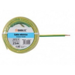 CABLE ELECTRICO 1,5 MM X25M AM/VE DUOLEC