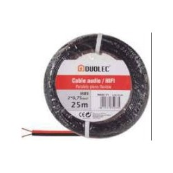 CABLE ELECT.MANG.RED 3X1,5 25M BL DUOLEC