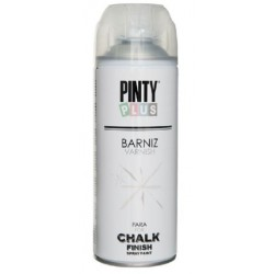 PINTURA SPRAY CHALK BARNIZ MATE AGUA