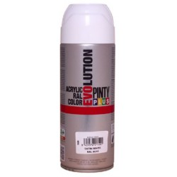 PINTURA SPRAY ACRILICA BLANCO MATE 400ML