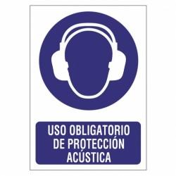 SEÑAL 210X297 PVC PROTEC.ACUSTICA