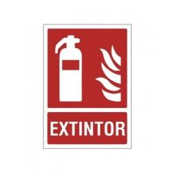 SEÑAL 210X297 PVC EXTINTOR