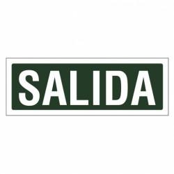 SEÑAL 297X105 PVC SALIDA