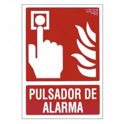 SEÑAL 210X297 PVC PULSADOR ALARMA