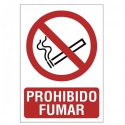 SEÑAL 210X297 PVC PROHIBIDO FUMAR