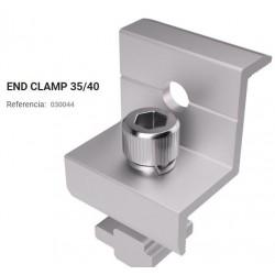 END CLAMP 35/40 GRAPA P/  SUJETAR PANEL