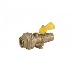 Llave conexion p/tubo c/patas dn32 RUMA