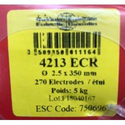 CAJA ELECTRODOS RUTILO 2,5X350 MM