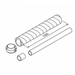 ExT ventilación 1m (80/125) aroSTOR