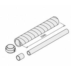 Ext ventilación 2m (80/125) aroSTOR