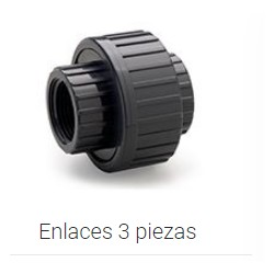 """ENLACE 3 P H-H ROSCAR """"1/2 PVC PRESION P"""