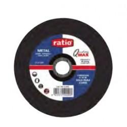 DISCO CORTE METAL 180X3X22   RATIO