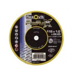 DISCO CORTE FINO (10) PERFLEX 115X10MM